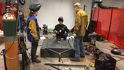 SkillsUSA Team Welding