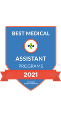 Best Medical Assistant programs 2021 logo