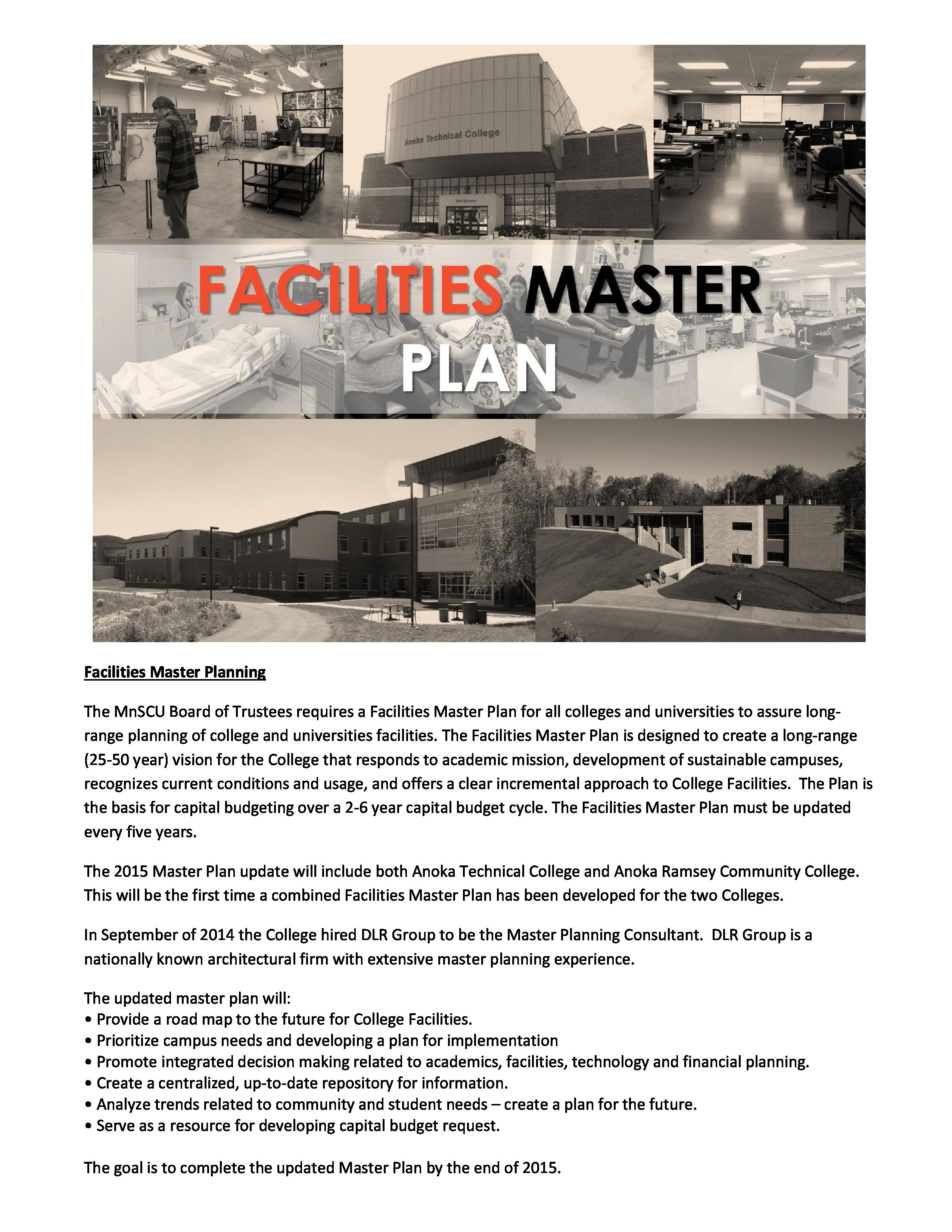 Facilities Master Plan 2015