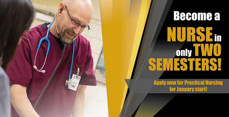 Become a nurse in two semesters!