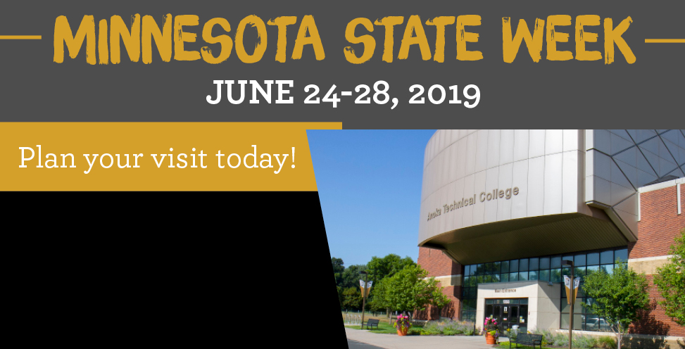 Minnesota State Week. June 24-28, 2019. Plan your visit today!